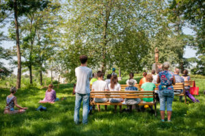 бесплатные медитации в ботаническом саду